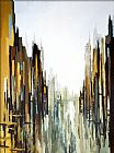 City paintings - Urban Abstract No. 141 by 2010