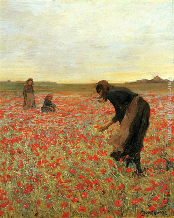 2011 Girls in Poppy Field