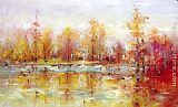 2011 Autumn Reflections painting
