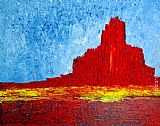 2011 Monument Valley painting