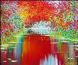 2011 Taras Loboda autumn sunrise painting