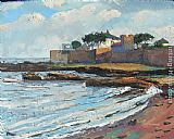 2011 West Anstruther towards the Clubhouse painting