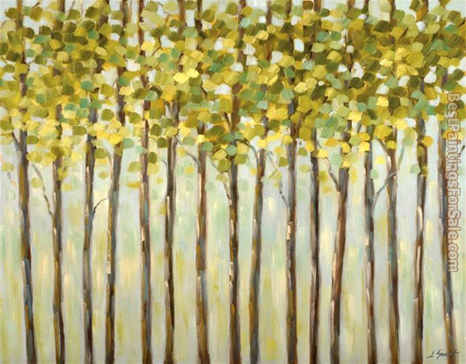 2012 Libby Smart Different Shades Of Green Painting Best