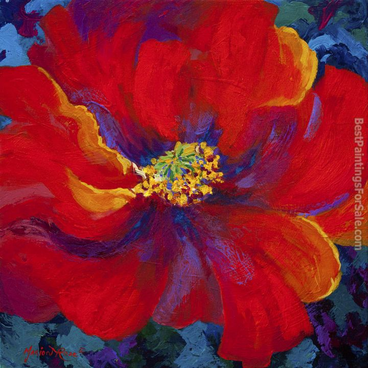2012 passion red poppy painting best paintings for sale - How to paint poppy flowers ...