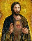 2012 Sacred Heart of Jesus painting