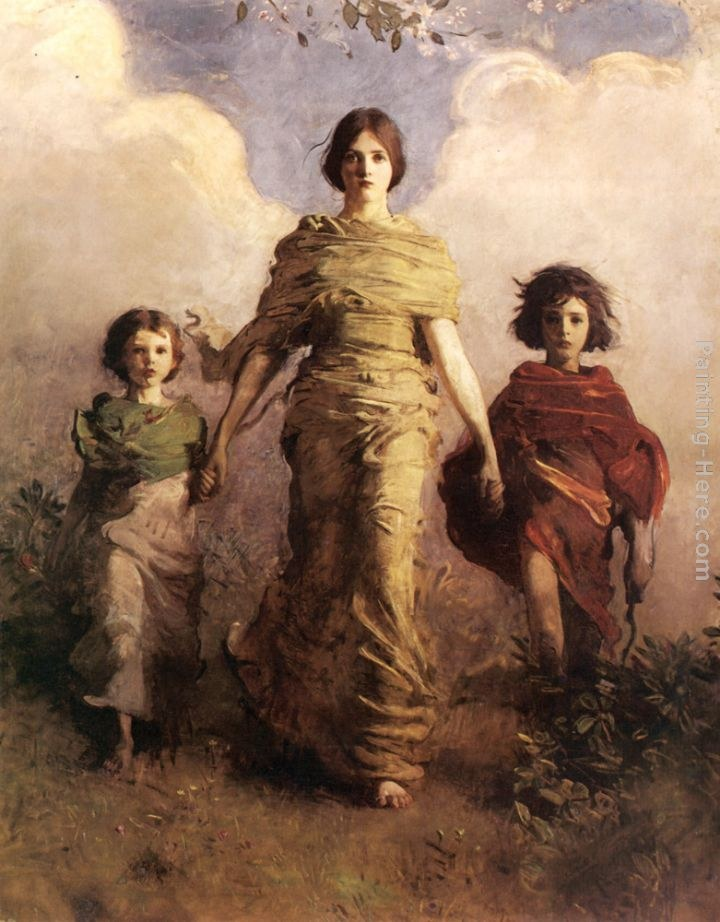 Abbott Handerson Thayer The Virgin Painting | Best ...