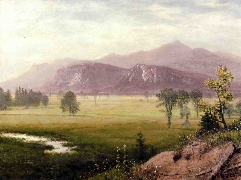 Albert Bierstadt Conway Meadows, New Hampshire