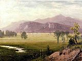 Albert Bierstadt Conway Meadows, New Hampshire painting