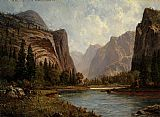 Albert Bierstadt Gates of the Yosemite painting