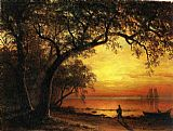 Albert Bierstadt Island of New Providence painting