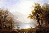 Albert Bierstadt Valley in Kings Canyon painting