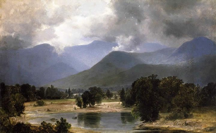 Alexander Helwig Wyant In the Keene Valley_ New York