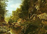Alexander Helwig Wyant In the Catskills painting