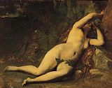 Alexandre Cabanel Eve After the Fall painting