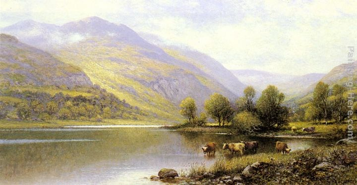 Alfred Glendening Near Capel Curig, North Wales
