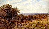 Alfred Glendening Harvest Time painting