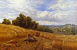 Alfred Glendening Resting From The Harvest painting