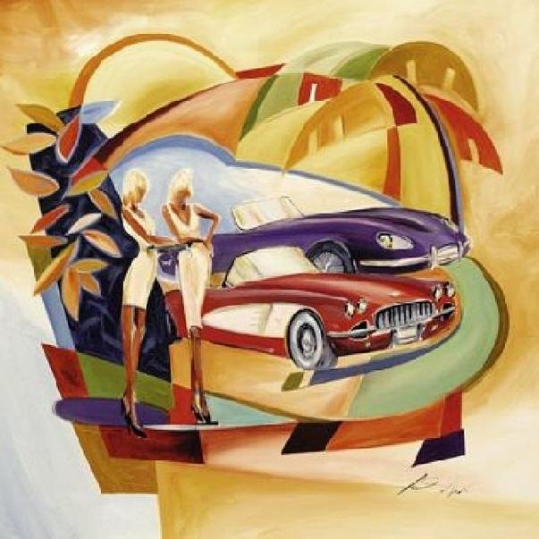 Alfred gockel classic cool i painting best paintings for for Cool paintings for sale