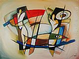 Alfred Gockel CHANGING TIMES painting