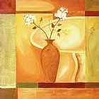 Alfred Gockel Flowers on the Square II painting