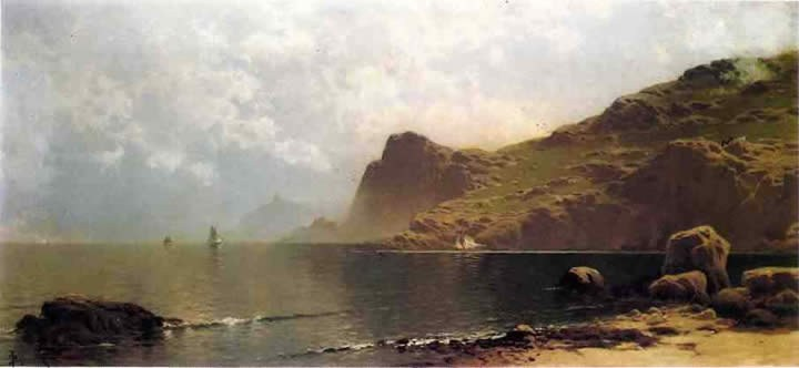 Alfred Thompson Bricher Mist Rising off the Coast