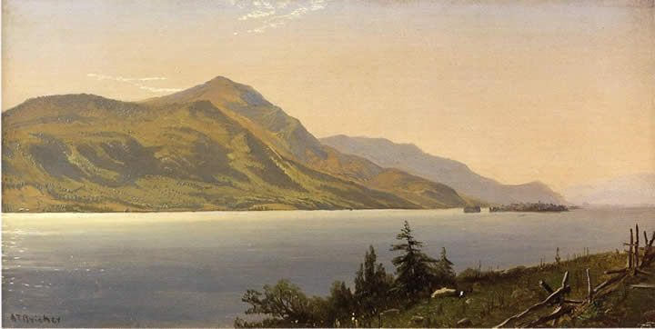 Alfred Thompson Bricher Tontue Mountain Lake George