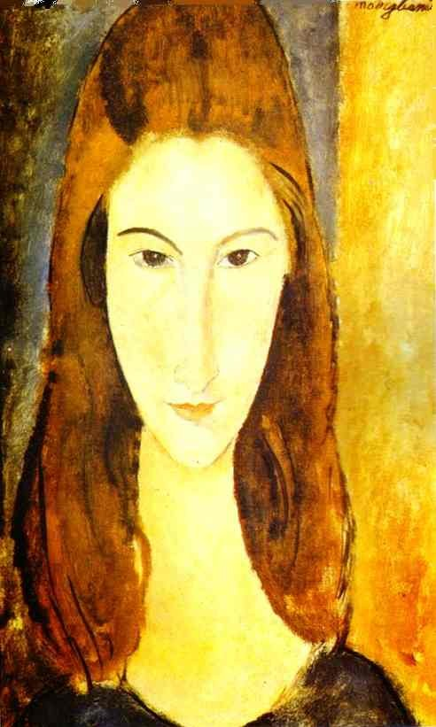 Amedeo Modigliani Portrait of Jeanne Hebuterne 2