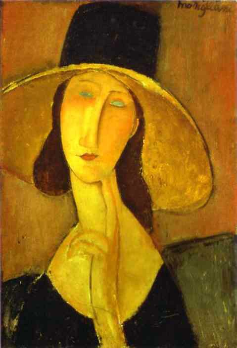 Amedeo Modigliani Portrait of Woman in Hat