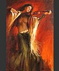 Andrew Atroshenko Lost in Music painting