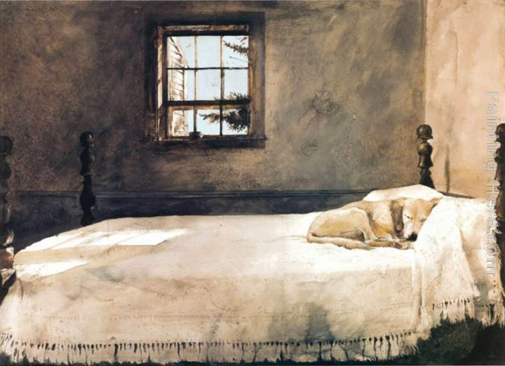 Andrew Wyeth Master Bedroom Painting | Best Paintings For Sale