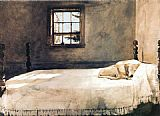 animal paintings - Master Bedroom by Andrew Wyeth