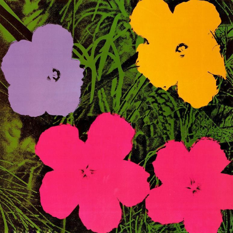 Andy Warhol Flowers 1970 Painting | Best Paintings For Sale