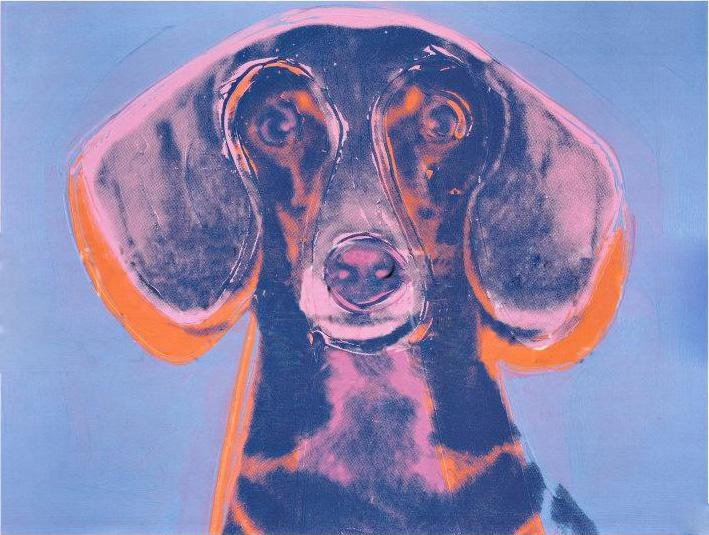 Andy warhol portrait of maurice painting best paintings for Andy warhol famous works