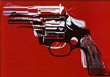 Andy Warhol Guns painting