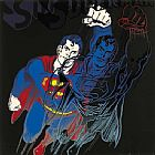 Andy Warhol Myths Superman painting