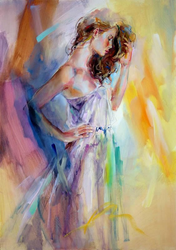 Anna razumovskaya essentially beautiful painting best for Large artwork for sale