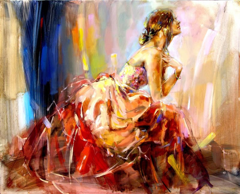 Anna razumovskaya praying for love painting best for Large artwork for sale