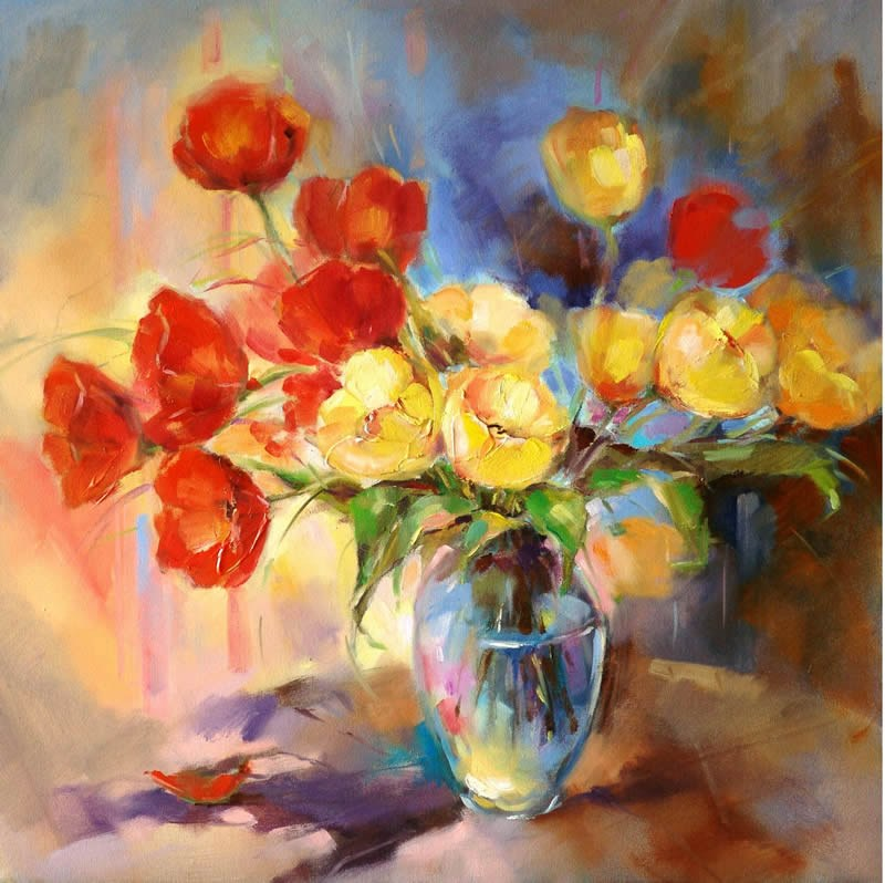 Anna razumovskaya spring morning painting best paintings for Spring canvas paintings