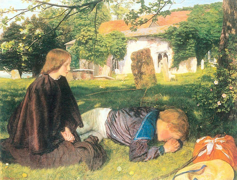 Arthur Hughes Home from Sea