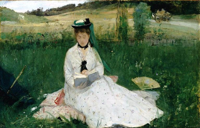 Berthe Morisot Reading