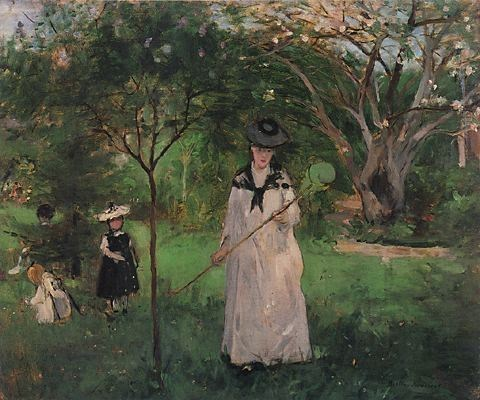 Berthe Morisot The Butterfly Hunt