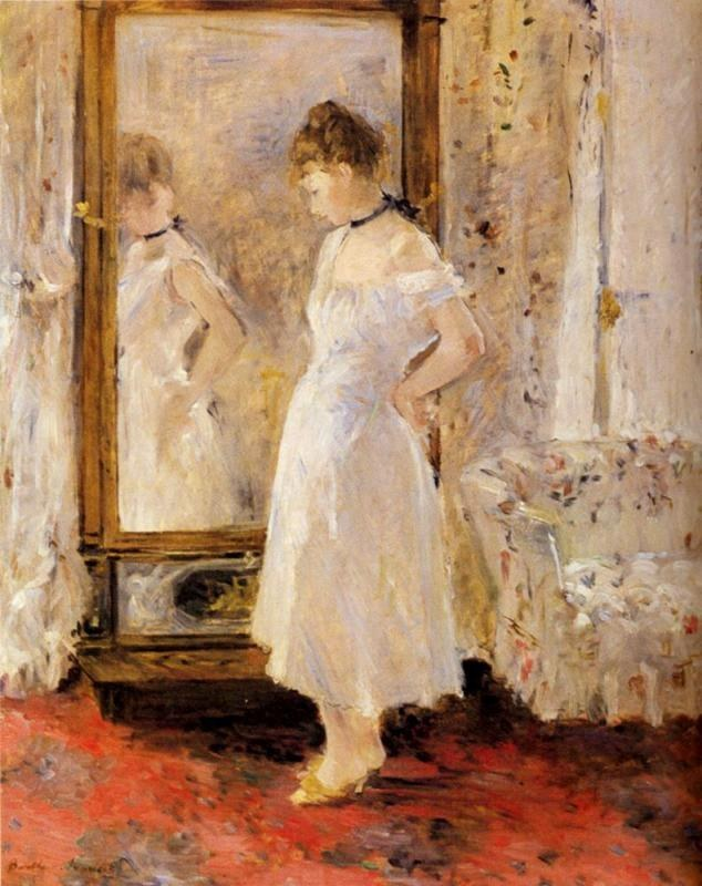 Berthe Morisot The Cheval Glass