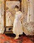 Berthe Morisot The Cheval Glass painting