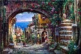 Mediterranean paintings - THE VISION BEYOND by Cao Yong