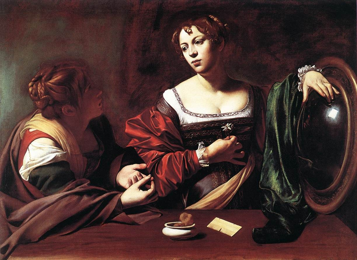 Caravaggio Martha and Mary Magdalene