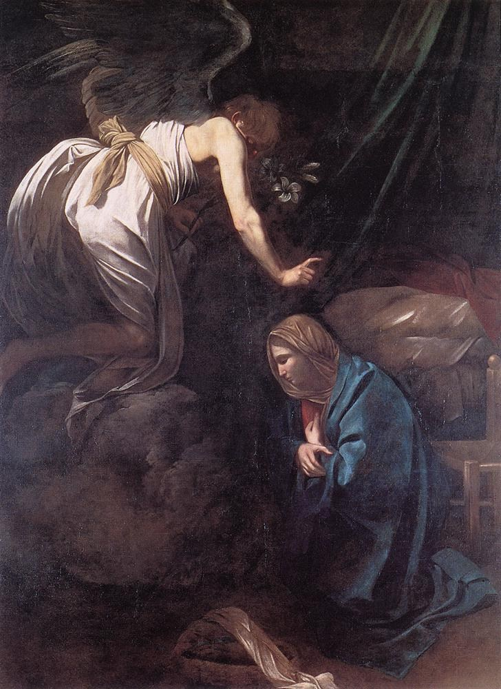 Caravaggio The Annunciation