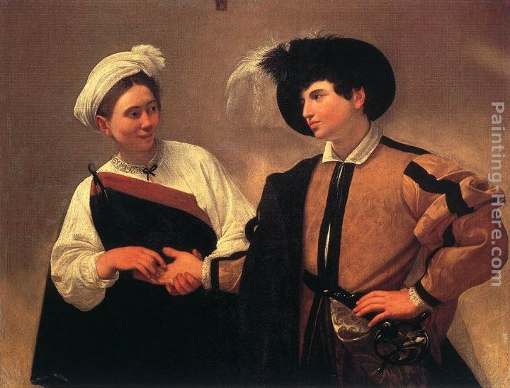 Caravaggio The Fortune Teller I