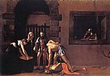 Caravaggio Beheading of Saint John the Baptist painting