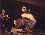 Caravaggio Lute Player painting