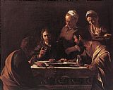 Caravaggio Supper at Emmaus painting